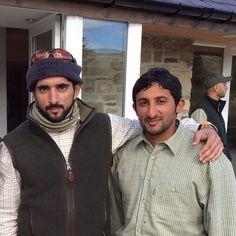 Hamdan bin Mohammed bin Rashid Al Maktoum y Juma bin Dalmook bin Juma Al Maktoum, 27/08/2015. Vía: mrs_almaktoum