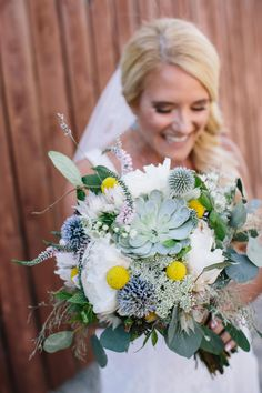 Bride's Bouquet by Harvest Moon Events | Photography by Seth Warren | Location Lookout Cabin Park City Mountain | www.harvestmoonevents.com