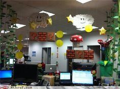 I should decorate my cubicle like this.