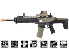airsoft guns | Full Metal Magpul Masada AEG Airsoft Gun ( Licensed Trademarks / 2 ...