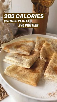 Protein Desserts, Protein Snacks, Low Calorie Desserts, Low Calorie Recipes, Good Healthy Recipes, Healthy Sweets, Healthy Baking, Healthy Snacks, Snack Recipes