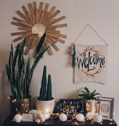 College Apartment Decor | Gold, Succulent, Cacti, Typography, For the Love of Letters