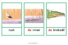 Juf Janneke digbordlinks :: jannekevankammen.yurls.net Woordkaarten bij het boek Dutch, Monsters, Safari, Homeschool, Social Media, Education, Art, Craft Art, Dutch Language