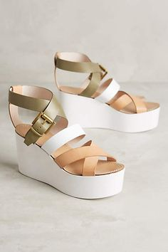 Alba Moda Bellavista Wedges - anthropologie.com
