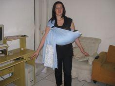 A nova moda entre as mamães hoje é o baby sling, então, fui em busca de um passo a passo. Fiquei impressionada de como é simples, quem tem ...