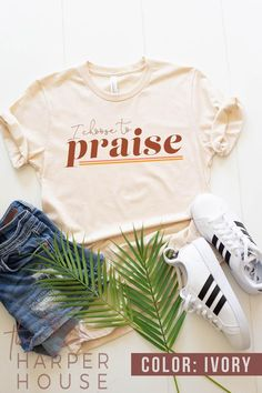 Christian T Shirts and Clothing for Women Church Shirt Worship Leader Christian Gifts for Pastor ...