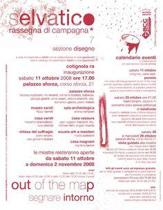 Selvatico rassegna di campagna/Out of the map. Segnare intorno/2008