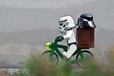 Lego Bike Star Wars Cycling Stormtrooper