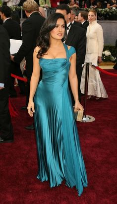 Salma Hayek - 2006 Academy Awards #Oscars