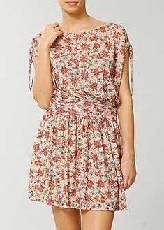 Modelos de Vestidos Floridos Curtos e Longos para o Dia a Dia