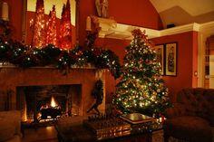 Gerstle Park Inn's warm Holiday Hearth