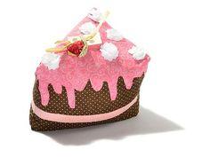 Cake Doorstop Mmm strawberry and chocolate! My favorite!