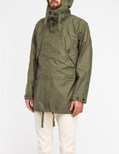 Reversed Sateen Over Parka - Engineered Garments
