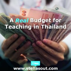 A Real Budget for Teaching in Thailand | Stella's Out…