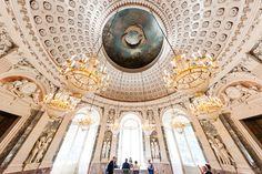 schloss benrath kuppelsaal atemberaubende #architektur