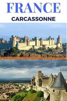 Carcassonne is an example (one of the few remaining) of a fortified medieval city with an great defensive system. Artistic Walls of Carcassonne Provence, Le Canal Du Midi, Carcassonne France, Gothic Cathedral, Camping, Roadtrip, Air Travel, Paris, Travel Essentials