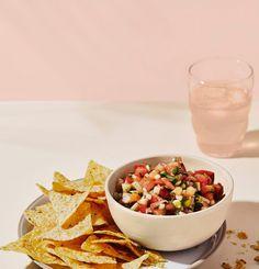 Trempette idéale pour crudités - Trois fois par jour Crudite, Vinaigrette, Chips, Mets, Dog Food Recipes, Cereal, Sauces, Breakfast, Super Bowl