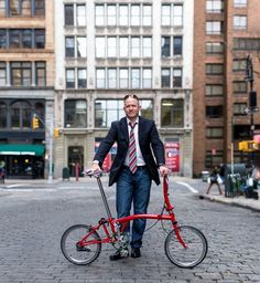Me and my Brompton 1-speed.