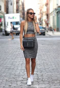 ¡Faldas y zapatillas! Increibles outfits e ideas de moda