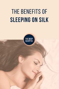 Silk feels luxurious and looks stylish! Find out how sleeping on silk can benefit your sleep health, and why it should be a part of your beauty routine. Insomnia Remedies, Sleep Remedies, How To Get Sleep, Good Night Sleep, Benefits Of Sleep, Beauty Advice, Beauty Hacks, Beauty Guide, Beauty Ideas