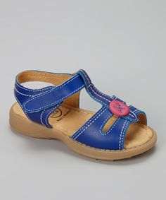Take a look at this Blue Olive Sandal by Livie & Luca on #zulily today!