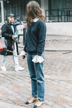 Swap out your clothes for these cute, comfy outfits. See street style inspiration here.