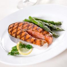 Salmon is an Omega-3 powerhouse full of protein and healthy fats, says Ilyse Schapiro, registered dietitian and certified nutritionist. Salmon is great for burning fat, but also, the Omega-3s in it will help to make your metabolism more efficient, slowing digestion and preventing cravings, she adds