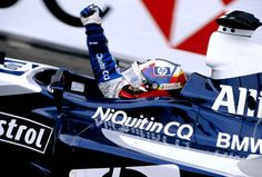 Juan Pablo Montoya claimed Williams' third vicotry on the streets of the Principality, in 2003. Team-mate Ralf Schumacher had started on pole but eventually finished fourth. ©LATphotography