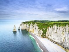 Located along France's Alabaster Coast, these cliffs offer more than just steep walls. Climb to the top and you'll have views of arched rock formations, as well as scenery that inspired Claude Monet. At various points along the cliffs' 80-mile stretch, you can spot natural sculptures that are said to resemble an elephant, among other things. —Lauren Kilberg