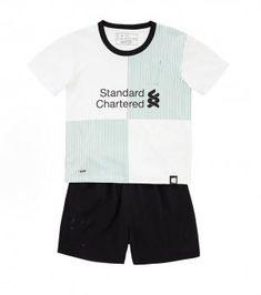 Kids Liverpool 2017-18 Season Away Kit