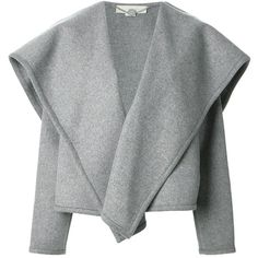 STELLA MCCARTNEY oversized draped jacket.  SO CUTE!  Might be my style, but not my price tag... $1,935... yikes!