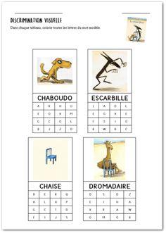Séquence de rentrée : EPS et Littérature à partir de La chaise bleue – GS/CE1 Words, Horse