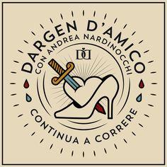 "Dargen D'Amico ""Continua a correre"" (iTunes Cover) by Corrado Grilli, via Behance"