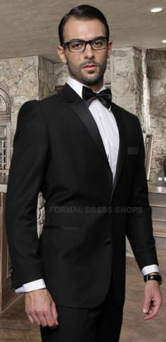 New 2 Piece Men's Black Tuxedo Wedding Destination Father of The Groom 100 Wool | eBay