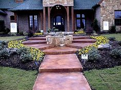 Concrete Walkways Holland Decorative Concrete Rockwall, TX
