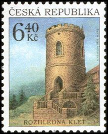 Rozhledna Kleť na Českokrumlovsku