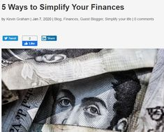 5 Ways to Simplify Your Finances - Declutter Your Life with Donna Smallin Kuper Mortgage Interest Rates, Monthly Expenses, Declutter Your Life, Best Track, Saving Time, Financial Statement, Filing System, Managing Your Money