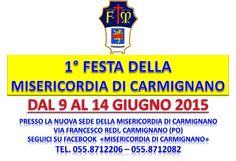 1° Festa della Misericordia di Carmignano