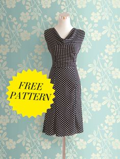 Hundreds of FREE Dress Patterns, Templates & Tutorials – Feed Our Life Formal Dress Patterns, Evening Dress Patterns, Summer Dress Patterns, Vintage Dress Patterns, Dress Sewing Patterns, Sewing Patterns Free, Free Sewing, Clothing Patterns, Free Pattern