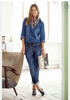 Jeans are a very important piece in my wardrobe, I have all the … pantacourt outfit summer Mode Outfits, Jean Outfits, Chic Outfits, Spring Outfits, Fashion Outfits, Womens Fashion, Fashion Trends, Outfit Summer, Fashion Tips