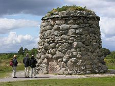 The Memorial Cairn at Culloden Battlefield