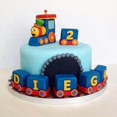 Transportation Themed Birthday Cake Idea Cakes