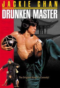 El mono borracho en el ojo del tigre (Drunken Master, 1978) de Woo-ping Yuen (http://ultracuerpos.com/fichas/mono-borracho-ojo-tigre-drunken-master-1978-woo-ping-yuen/) #pelicula #poster