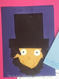 President's Day Craft- Abraham Lincoln Craft, George Washington Craft. Compare and Contrast writing