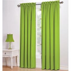 kylee lime green room darkening curtains kids curtains