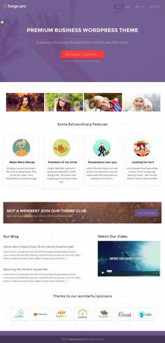 Foogo PRO WordPress Theme - InkThemes