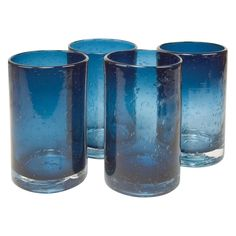 Artland Inc. Iris Slate Blue HiBall Glasses - Set of 4 - You and your friends will find it easy to enjoy cocktails with the Artland Inc. Iris Slate Blue HiBall Glasses - Set of 4 . This light-hearted glassware...