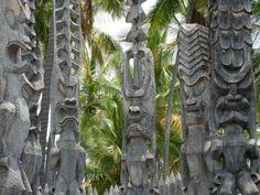 Hawaii tikis,