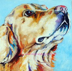 Original+Golden+Retriever+Oil+Painting+12x12+painted+by+mybunnies3,+$90.00