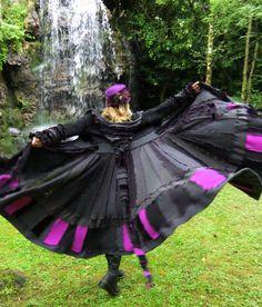 Elf Coat by Fairytea - 'Titania' fairy coat